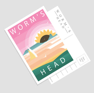 Modern & Minimalistic Gower postcards (Pack of 7)