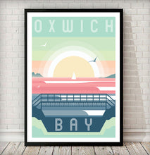 Load image into Gallery viewer, Oxwich Bay (Nicholaston Pill) Modern & Minimalistic print