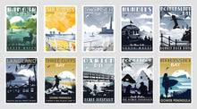 Load image into Gallery viewer, Gower Coastal Postcards ( Set of 10 ) Version 1