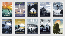 Load image into Gallery viewer, Gower Coastal Postcards (Pack of 10, version 2)