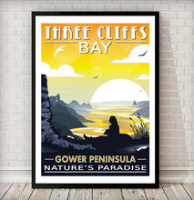 Load image into Gallery viewer, Three Cliffs Bay (Nature's Paradise)
