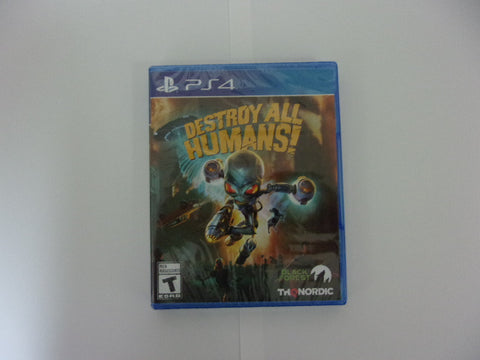 "PS4 ""Destroy All Humans"""