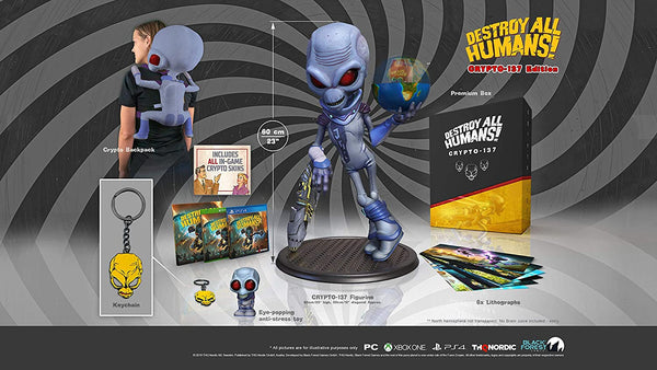 PlayStation4: Destroy All Humans Crypto-137 Edition