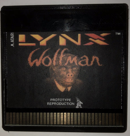 """Wolfman"" Prototype Reproduction"