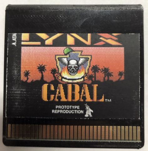 """Cabal"" Prototype Reproduction"