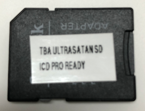 SD card (16G) for UltraSatan