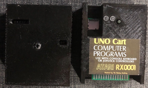 TBA's UNO-A8 Cart for the Atari XL/XE