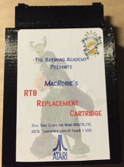 TBA's RT8 Cartridge replacement for R-Time 8 cartridge for Atari 800/XL/XE machines