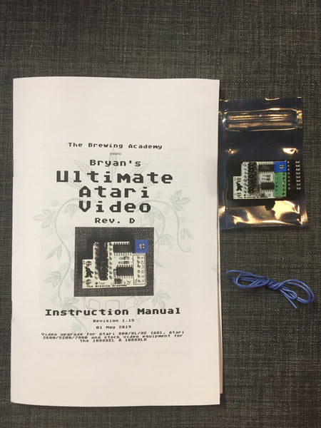 TBA's Ultimate Atari Video (UAV) board for Atari 2600