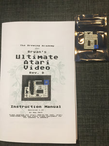 TBA's Ultimate Atari Video (UAV) board for Atari 5200