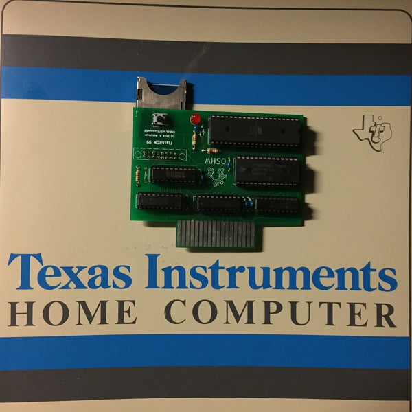 FR99: FlashROM 99 Cartridge for the Texas Instruments 99/4a