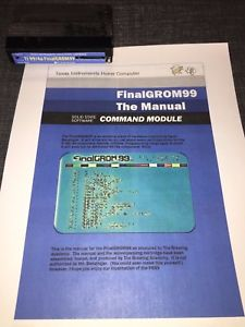 FG99: FinalGROM99 for the Texas Instruments 99/4a