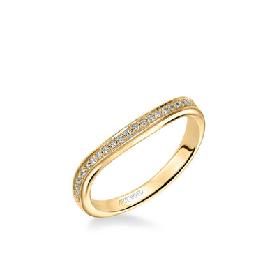 Peyton Vintage Diamond Wedding Band