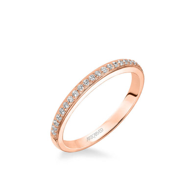 Stella Contemporary Diamond Wedding Band