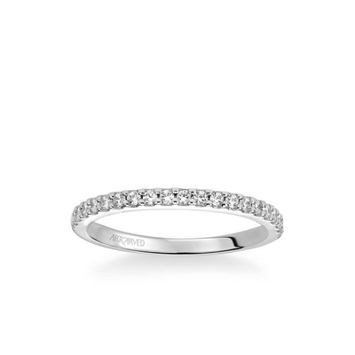 Allison Classic Diamond Wedding Band