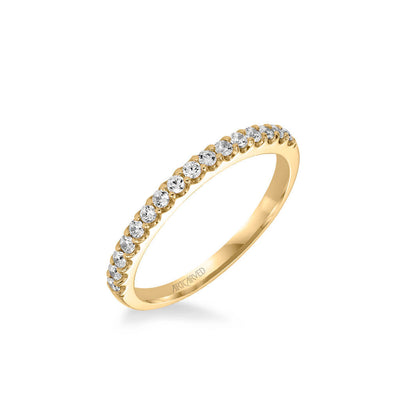 Skyler Contemporary Diamond Wedding Band