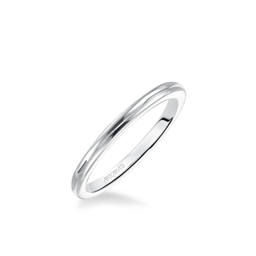 Lindsey Classic Polished Wedding Band