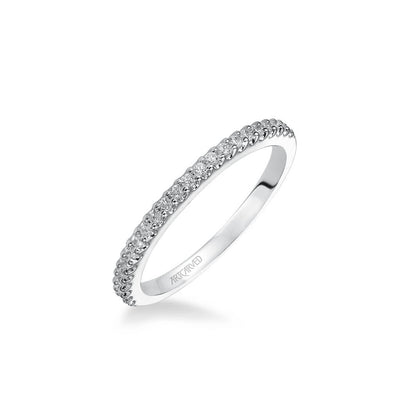 Virginia Contemporary Channel Set Diamond Wedding Band
