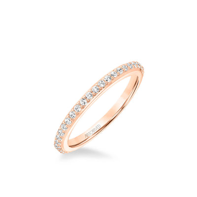 Evangeline Classic Diamond Wedding Band