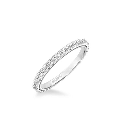 Tayla Contemporary Diamond Wedding Band
