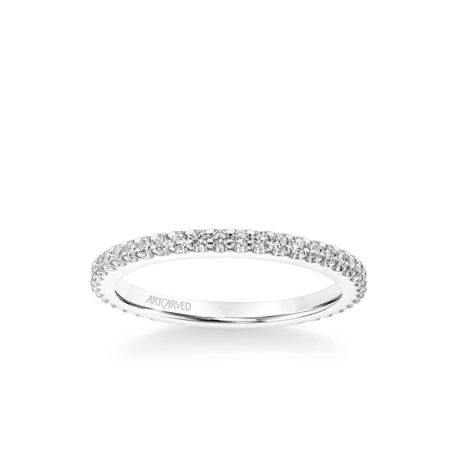 Jill Classic Diamond Wedding Band
