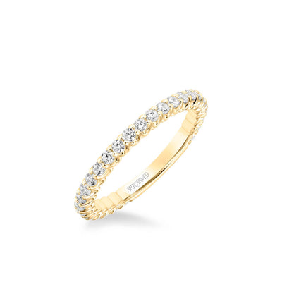 Arabelle Classic Diamond Wedding Band