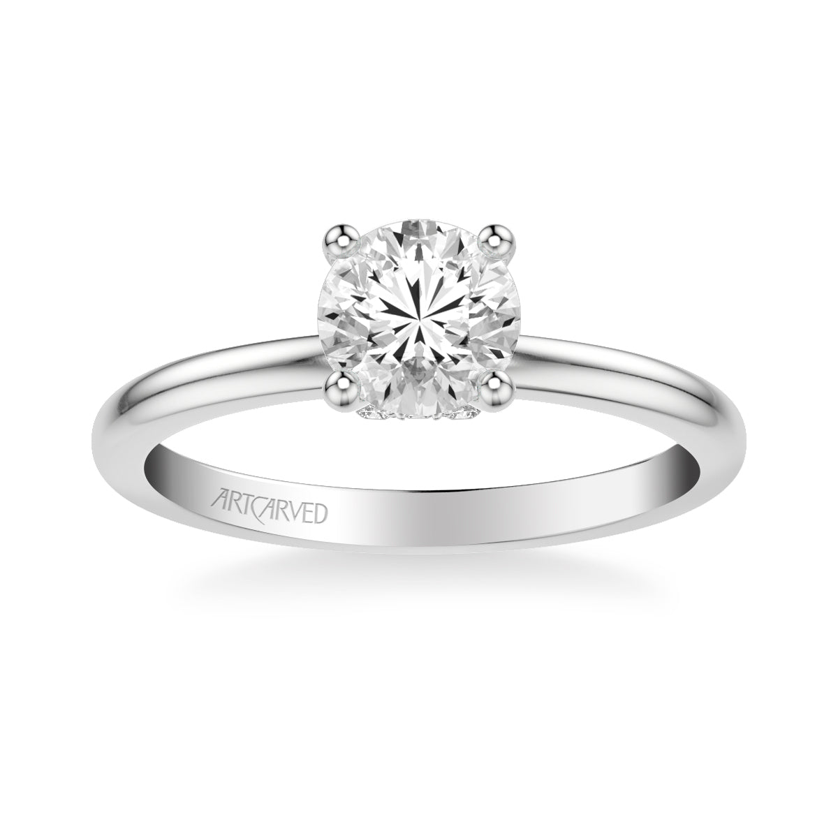 a6ccdde04 Kit Classic Solitaire Diamond Engagement Ring - artcarvedbridal