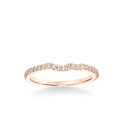 Bluebelle Contemporary Diamond Wedding Band