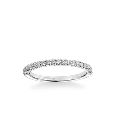 Penny Classic Diamond Wedding Band