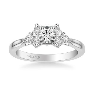 Maryann Classic Three Stone Diamond Engagement Ring