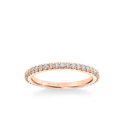 Maryann Classic Diamond Wedding Band