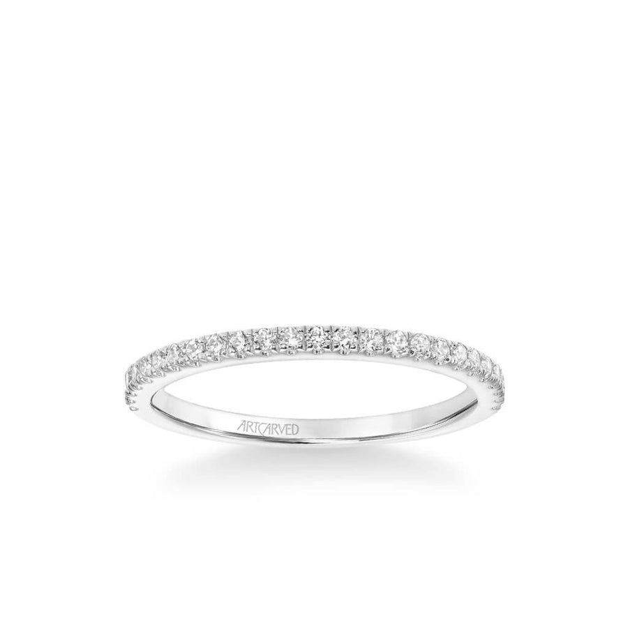 Molly Classic Diamond Wedding Band