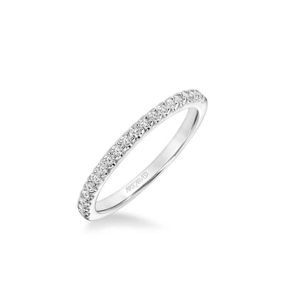 Tori Classic Diamond Wedding Band