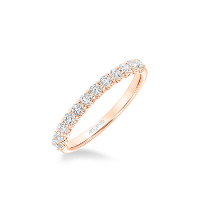 Faye Classic Diamond Wedding Band