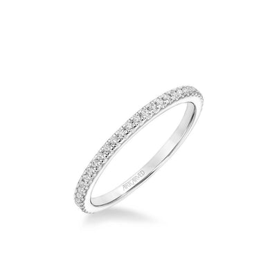 Elyse Classic Diamond Wedding Band