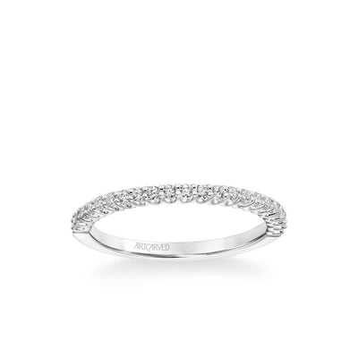 Melissa Classic Diamond Wedding Band