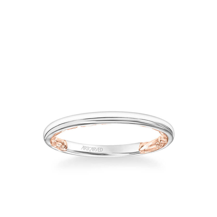 Tia Lyric Collection Classic Polished Wedding Band
