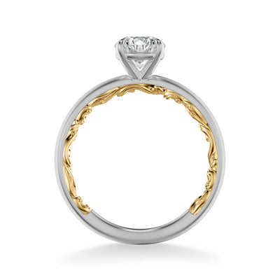 Beryl Lyric Collection Classic Solitaire Diamond Engagement Ring