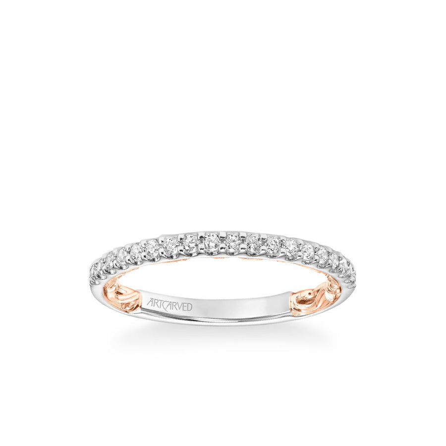 Sonya Lyric Collection Classic Diamond Wedding Band
