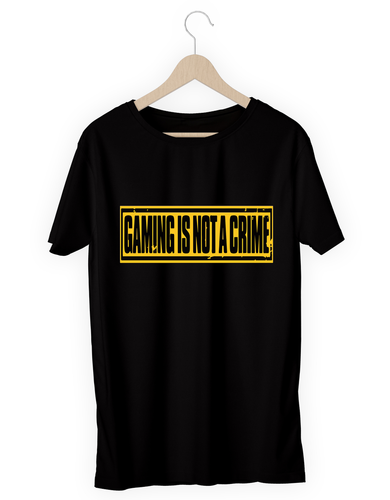 Gaming is not a crime - hashtags-express-yourself