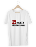 Female: The original Ironman - hashtags-express-yourself