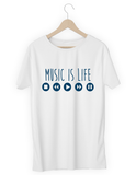 Music is Life - hashtags-express-yourself