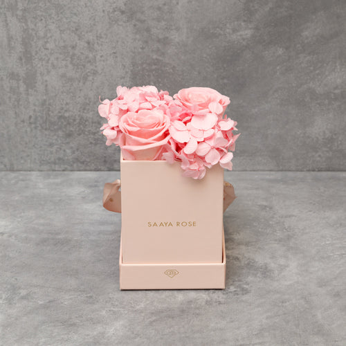 Hydrangea Rose Box (mini)