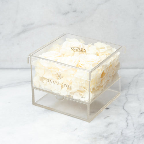 Clear Hydrangea/Rose Box (small)