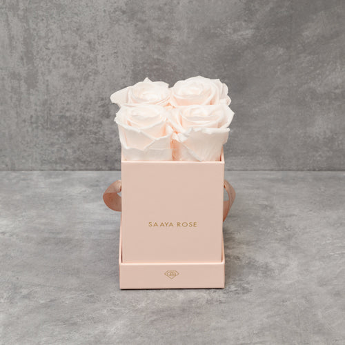 4 Pink Box (Light Pink Roses)