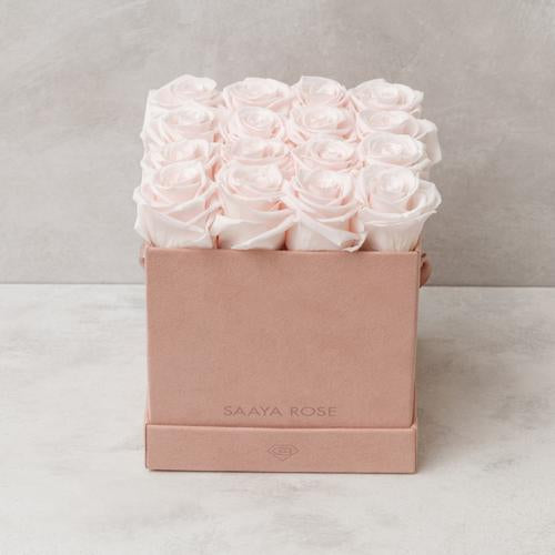 16 Pink Suede (Light Pink Roses)