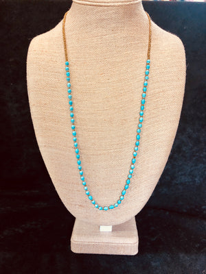 Two-Toned Beaded Necklace