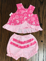Maison Chic Raspberry Dress & Bloomers