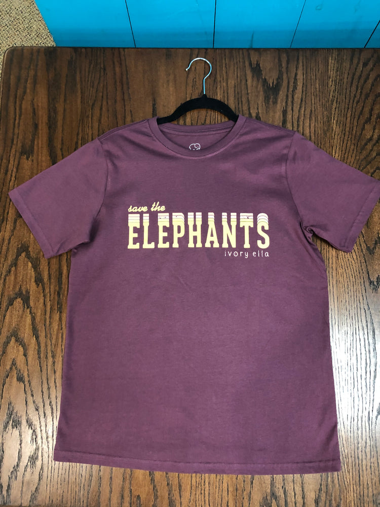 "Ivory Ella ""Save the Elephants"" Tee"