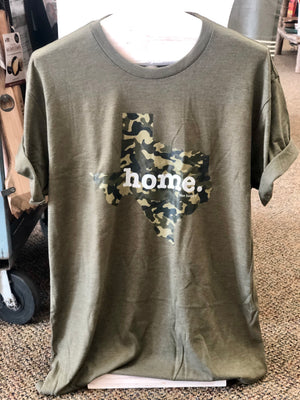 Texas Camo Home Tee Army Green